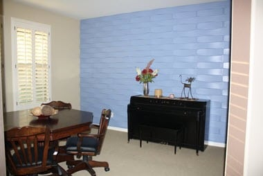 Dining Room 3 D Wall Panel