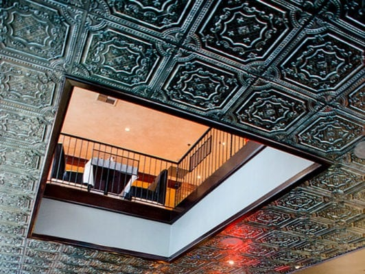 king fish restaurant ceiling tiles-interior design