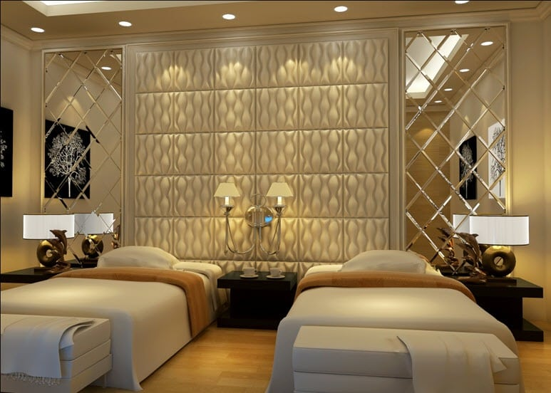Application of Wall Panels in Bedrooms | Talissa Decor ...