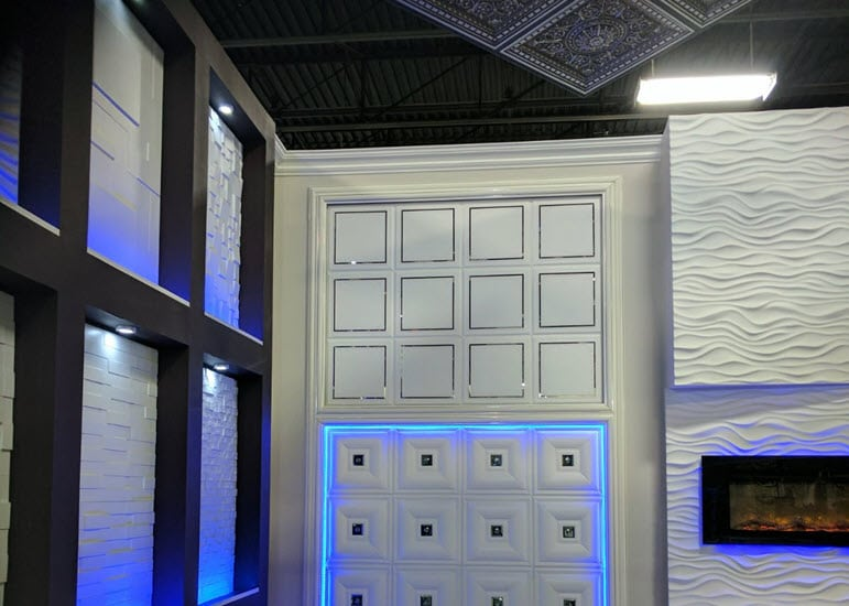 Ceiling Tiles and Wall Panels in Erie
