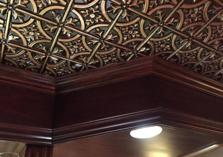 Faux tin ceiling tile Wildwood
