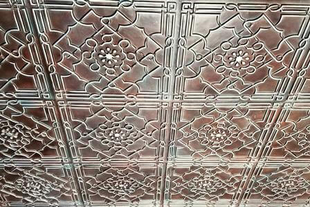 Ceiling tiles in Fort Worth
