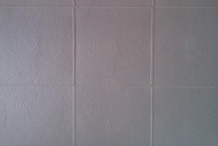 tiles of styrofoam