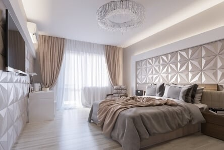 decor with 3d wall panels