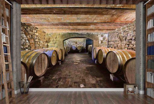 1724R_Wine-Cellar-Chianti Region_Cave-à-Vin-Région-de-Chianti