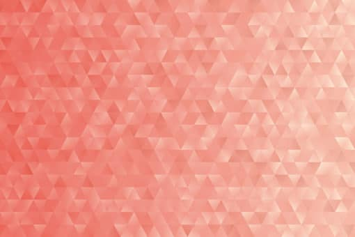 Coral-Geometric-Triangles-wall-mural