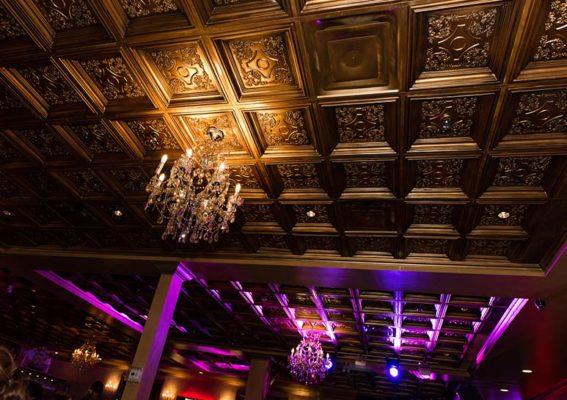 nightclub decor ceiling tiles