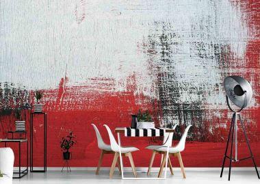 brush strokes wall murals