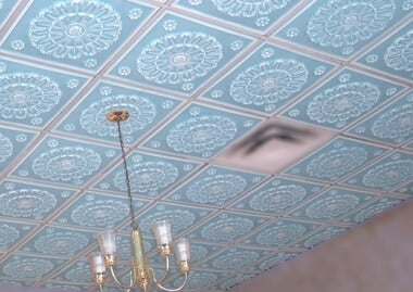 ceiling decor in Atlanta