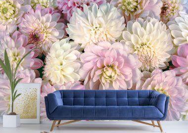 wall murals flowers