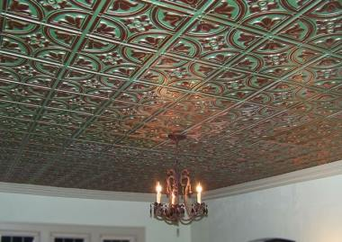 faux tin ceiling tile Omaha