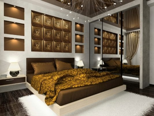 bedroom wall decorative tiles and accents