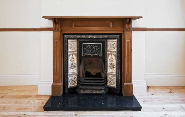 fireplace decorative tiles