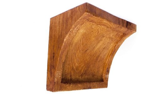 Faux Wood Beam Corbel MC 025