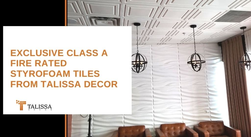 Talissa Decor Styrofoam tiles