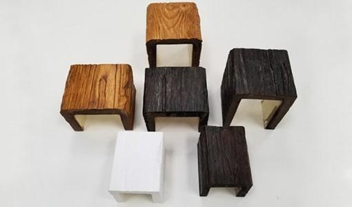 Faux Wood Beams Sample